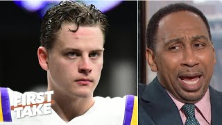 Stephen A. doesn't want to see Joe Burrow drafted by the Bengals | First Take