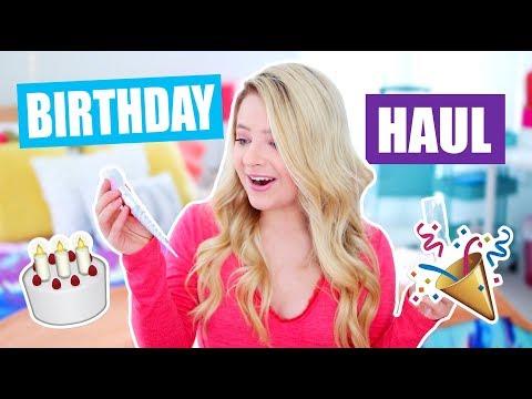 17th Birthday Haul!
