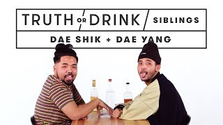Brothers Play Truth or Drink (Dae Shik & Dae Yang)   Truth or Drink   Cut