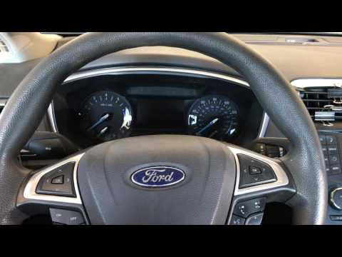 How to retract electronic rear calipers on a 2013 to 2013-16 ford fusion