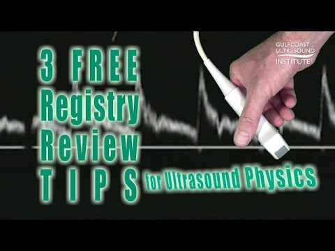 General Sonography Physics SPI Registry Review Course Free Tips