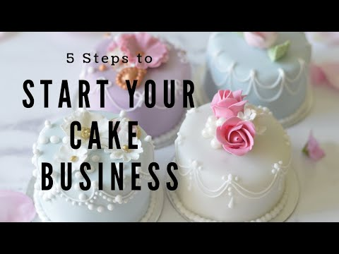 Five Steps To Launch your Wedding Cake Business