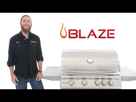 Blaze Traditional Gas Grill Review | 32 inch 4 Burner Model | BBQGuys.com
