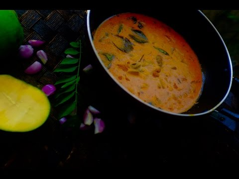 Kerala Thrissur Special Pacha Manga Curry /പച്ച മാങ്ങാ കറി - -With Subtitles :Recp no 37