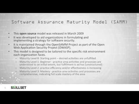 Maturity Models (CISSP Free by Skillset.com)