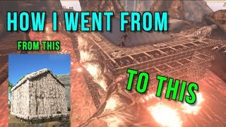 How I Went From A Thatch Hut To The Most Well Known Tribe On Ark Official Servers