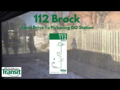 DRT 2012 New Flyer XD40 #8532 On 112 Brock (Zents Drive To Pickering GO Station - Full)