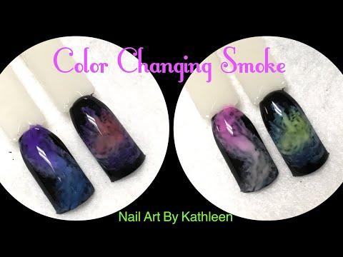 Color Changing Smoke Nails