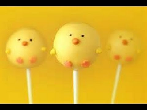 How to make a Spring Chick Cake Pop - Bakerella Challenge