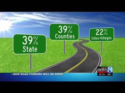 Where does gas tax money go?