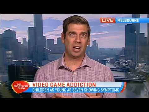 Video game addiction for children as young as seven