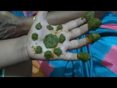 Natural menicure/pedicure henna/maruthani homemade benefits/better than nail polish