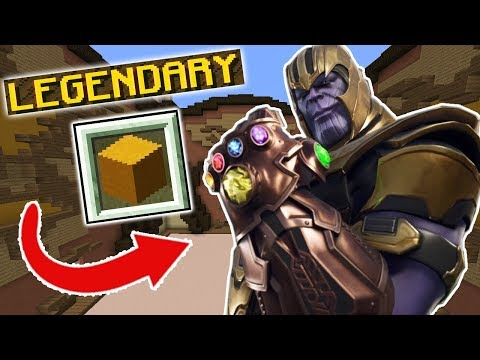 INFINITY GAUNTLET?! (Minecraft Build Battle)