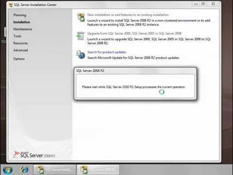 SQL Server 2008 R2 ve Management Studio Installation