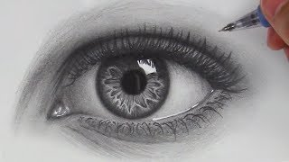 Download How to Draw Hyper Realistic Eyes | Step by Step Video