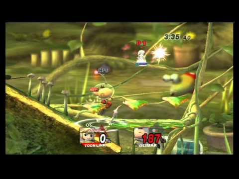 Super Smash Bros Brawl (Wii) Classic as Toon Link