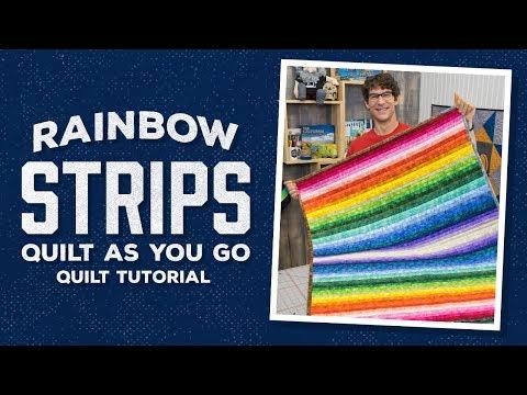 Make a Rainbow Strips