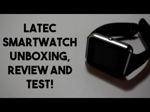 Budget Smartwatch! Latec Smartwatch Unboxing, Review and Test!