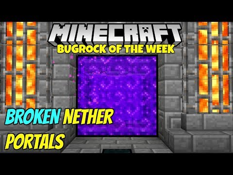 How to make a nether portal pe 11 1 -