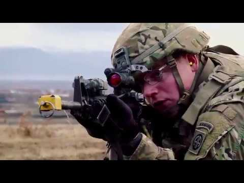 U.S. Paratroopers Conduct Training Exercise In Kosovo