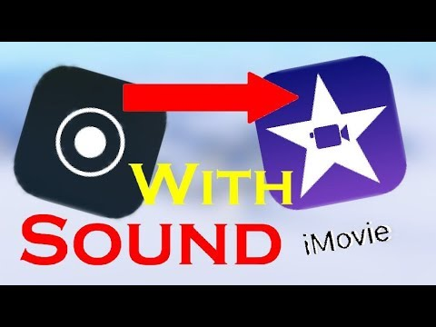 How To Upload an iOS Screen Recoding to IMovie ect... With Sound!!!