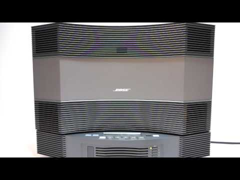 Bose Acoustic Wave Music System CD-3000 Demo