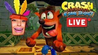 Crash Bandicoot N Sane Trilogy LIVE w/Cupquake