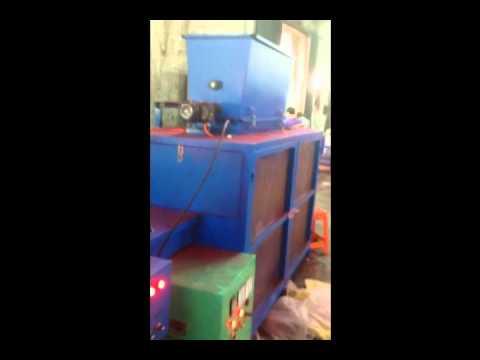 Automatic Plastic shoe Flocking machine