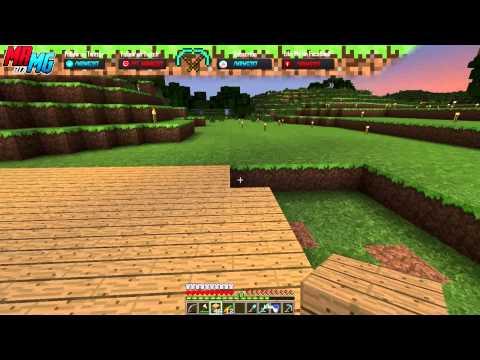 Minecraft Noob Mondays Survival Mode- #4: Modern House Build Part 1 | Server Finally Hosted