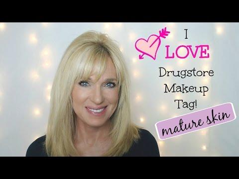 I LOVE Drugstore Makeup Tag! Mature Skin!