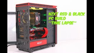 {pc Build} nzxt H440 Red & Black ~time Lapse~