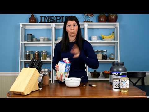 Chocolate Peanut Butter Cauliflower Oatmeal Recipe