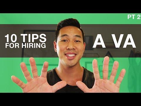 Top 10 Tips For Hiring A VA (Virtual Assistant) | Part 2