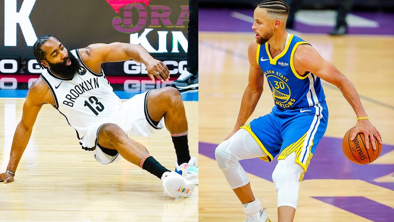 """NBA """"Crossovers and Ankle Breakers of 2021"""" MOMENTS"""