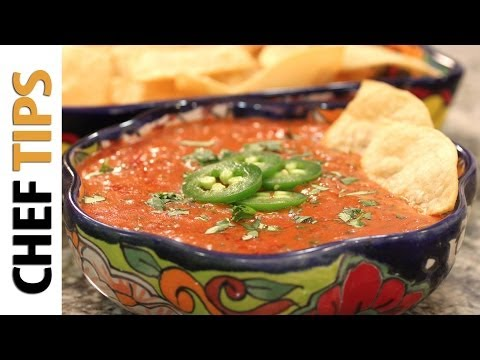 Queso Fundido with Chorizo - Mexican Cheese Dip Recipe