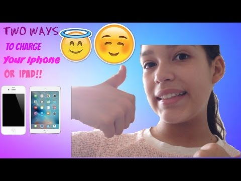 How To Make Your Iphone/Ipad Charge  FASTER!!
