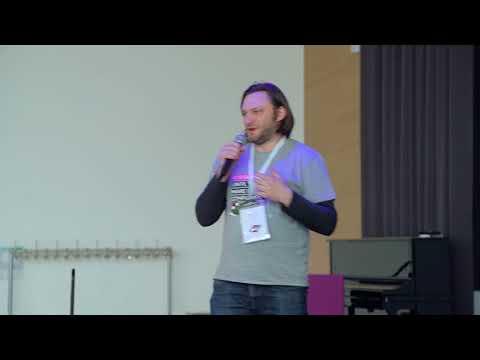 Gregor Elke - A word from an organizer   JSUnconf 2018 Lightning Talks