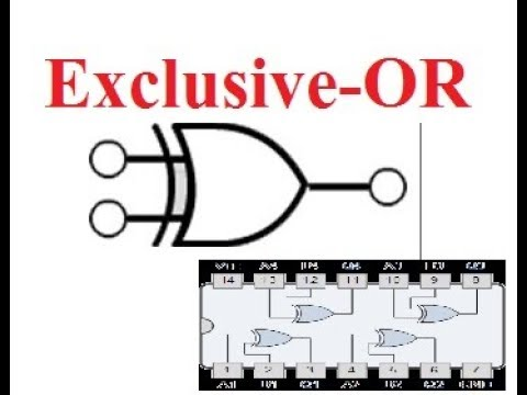 Exclusive OR gate With NOR and NAND