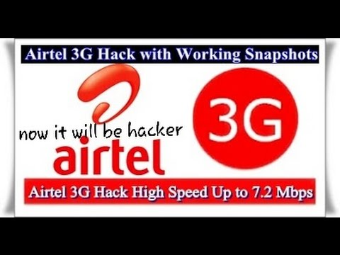 How to make Airtel free 3G INTERNET