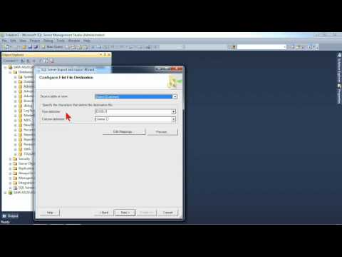 Administering Microsoft SQL Server 2012: Utilizing the Import and Export Wizard