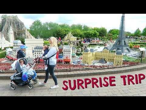 SURPRISE TRIP TO LEGOLAND     DAY OUT WITH KIDS #ad