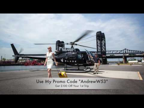 [Fly BLADE Review] NYC to The Hamptons + $100 Off Blade Promo Code