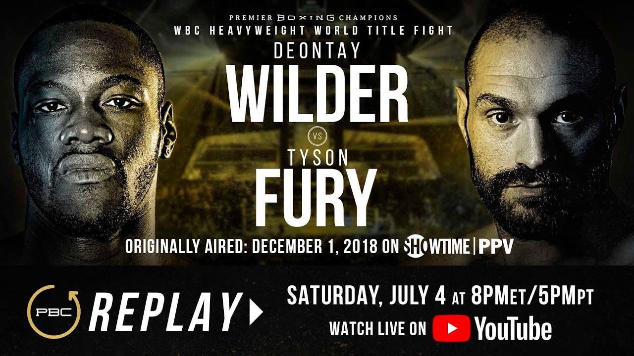 PBC Replay: Deontay Wilder vs Tyson Fury 1 | Full PPV Fight Card