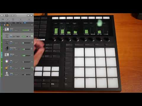 Maschine MK3 Transport Now Works Natively In Logic Pro X