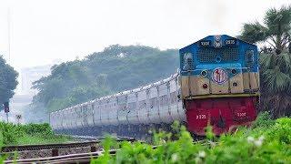 Chittagong to Dhaka First Non-stop & Luxury Train Subarna Express of Bangladesh Railway