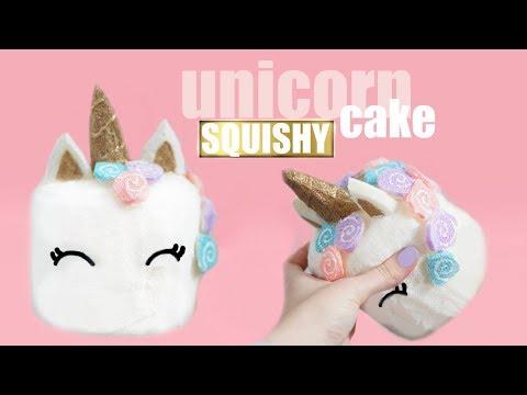 DIY UNICORN CAKE SQUISHY   Memory Foam Squishy
