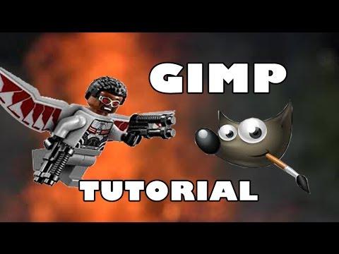 How To Make LEGO Fly [GIMP Tutorial!!!]
