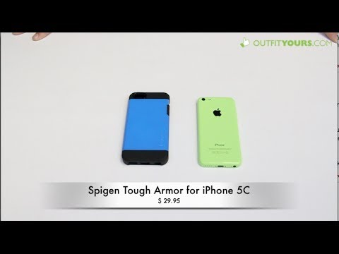 Spigen Tough Armor for iPhone 5C Review