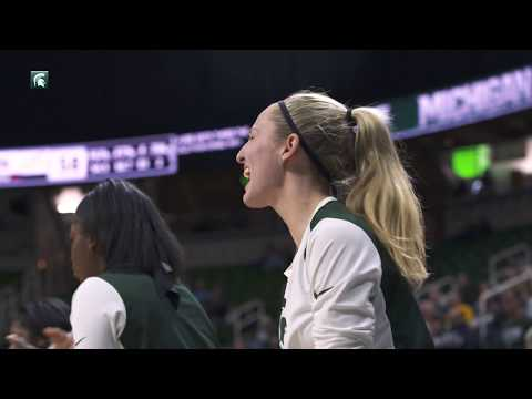 Colley's Game-Winner Advances Michigan State to Third Round of WNIT