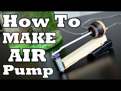 DIY MiNi Aquarium AIR PUMP!